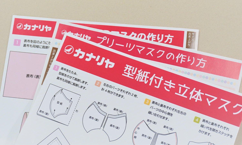 マスク型紙 参考画像